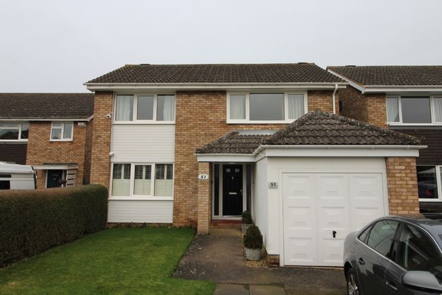 Thumbnail Detached house for sale in Tennyson Drive, Newport Pagnell, Buckinghamshire
