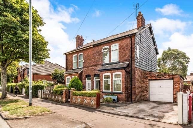 Thumbnail Semi-detached house for sale in Sale Road, Northern Moor, Manchester, Greater Manchester