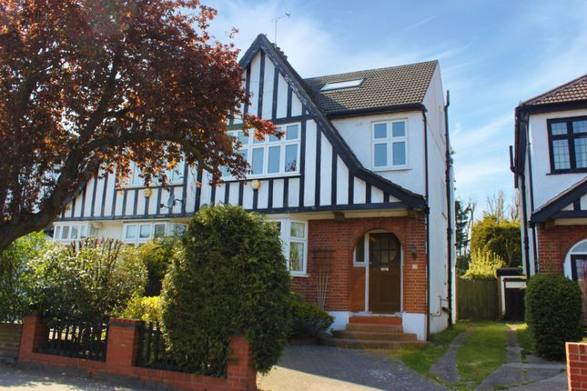Thumbnail Semi-detached house for sale in St. Barnabas Road, Woodford Green