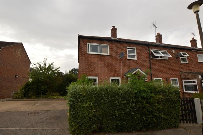 Thumbnail Semi-detached house for sale in The Crescent, Great Horkesley, Colchester