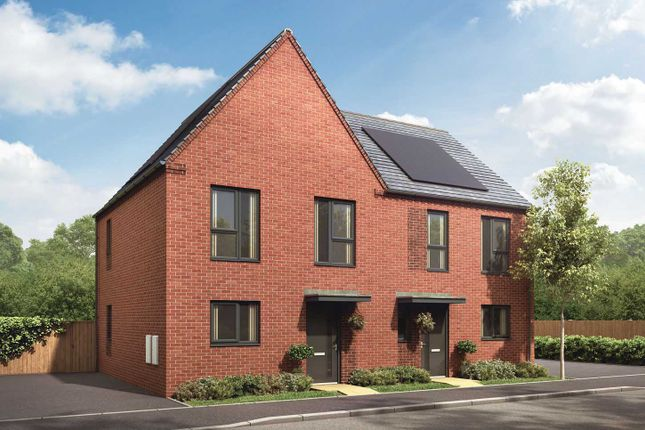 """Semi-detached house for sale in """"The Clyde"""" at Showell Road, Wolverhampton"""