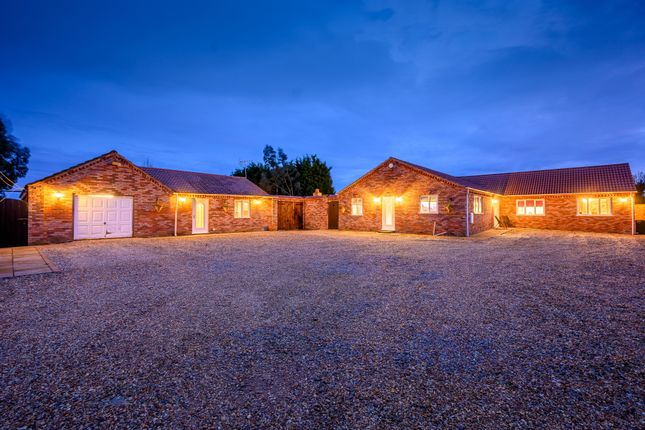 Detached bungalow for sale in Cattle Dyke, Gorefield, Wisbech, Cambridgeshire