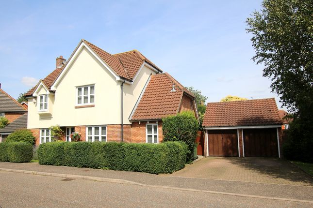 Thumbnail Detached house for sale in Coppice Close, Dunmow