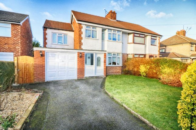 Thumbnail Semi-detached house for sale in Adaston Avenue, Eastham, Wirral