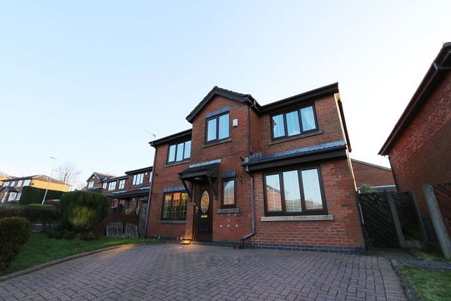Thumbnail Detached house for sale in Hillspring Road, Springhead, Oldham, Greater Manchester