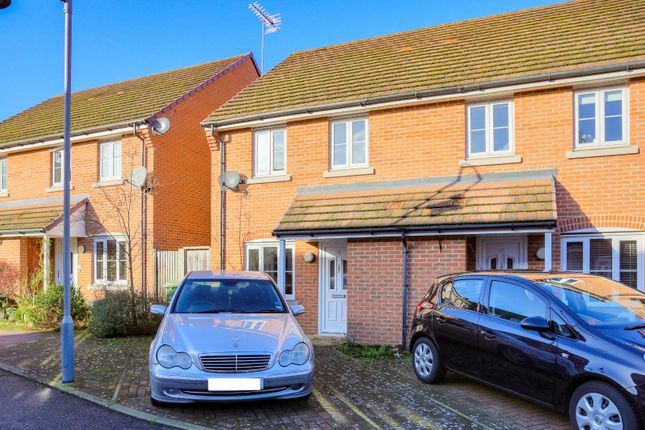 Thumbnail Semi-detached house for sale in Avian Avenue, Curo Park, Frogmore, St. Albans, Hertfordshire