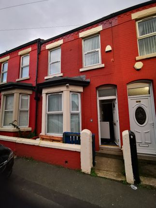 Thumbnail Terraced house to rent in Palatine Road, Wallasey