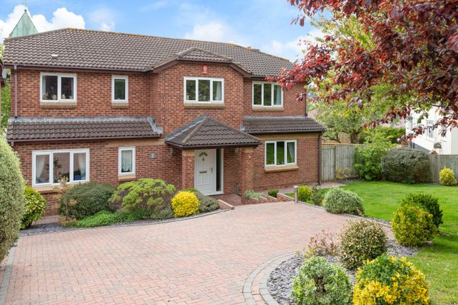 Thumbnail Detached house for sale in Church Way, Newton Abbot