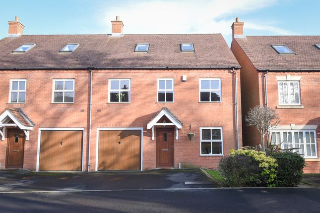 Thumbnail Mews house for sale in The Mansions Mews, Four Oaks, Sutton Coldfield