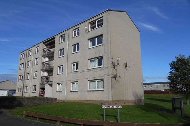 Thumbnail 2 bed flat to rent in Henryson Road, Dunfermline, Fife