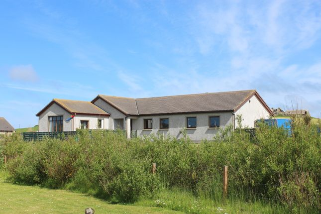 Detached bungalow for sale in Bu, Burray, Orkney