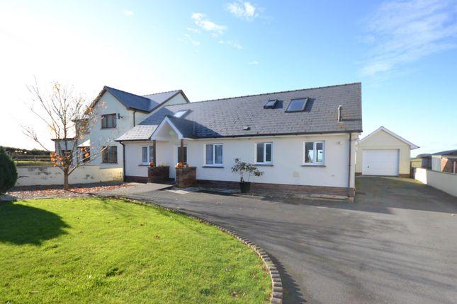 Thumbnail Detached bungalow for sale in Coed Y Bryn, Llandysul
