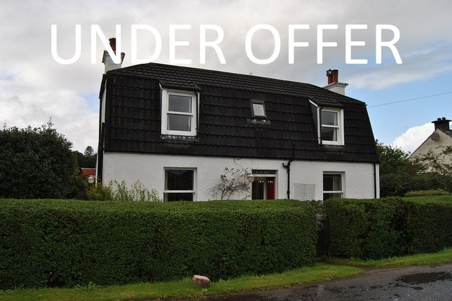 Thumbnail Detached house for sale in Taynuilt, Argyll