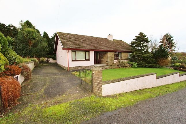 Thumbnail Bungalow for sale in 'cairndale' Church Road, Kirkcolm