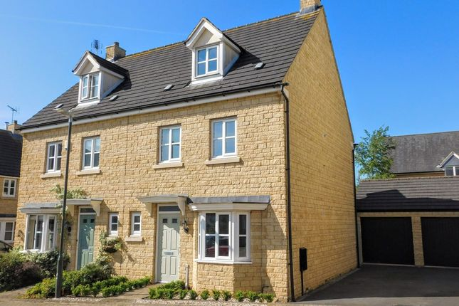 Thumbnail Semi-detached house for sale in Willett Gardens, Winchcombe, Cheltenham