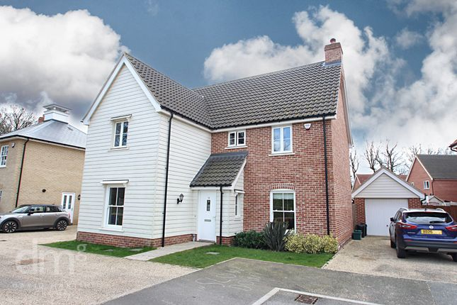 Thumbnail Detached house for sale in Swallowtail Glade, Stanway, Colchester
