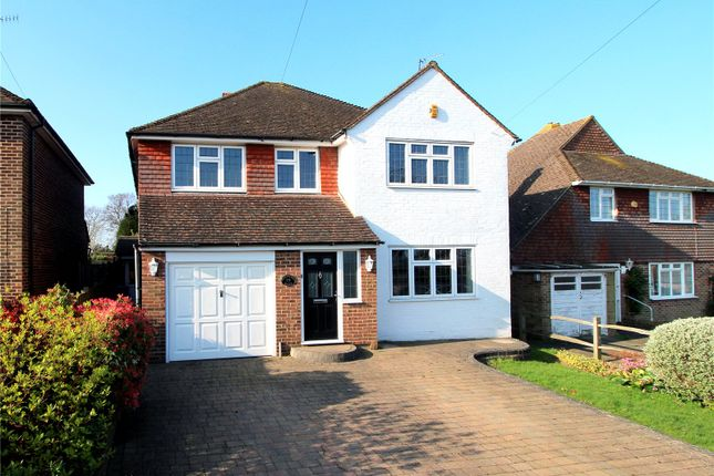 Thumbnail Detached house to rent in Heathcote Drive, East Grinstead, West Sussex