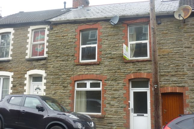 Thumbnail Terraced house to rent in Gloucester Building, Pantygog, Bridgend