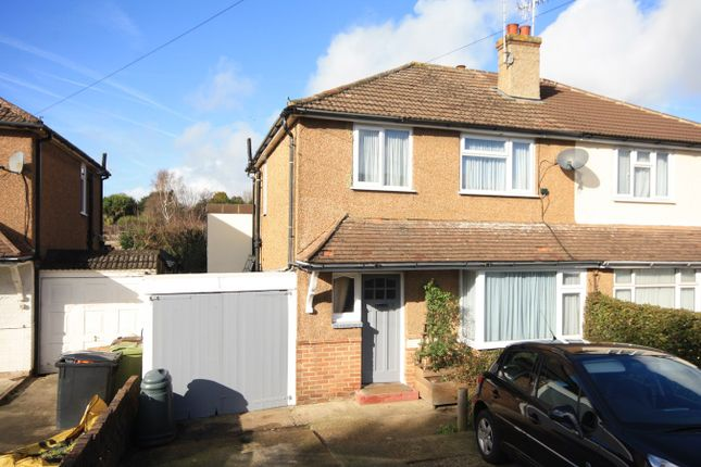 Thumbnail Semi-detached house for sale in Bancroft Road, Bexhill-On-Sea