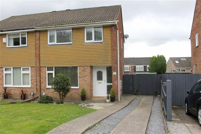 Thumbnail Semi-detached house for sale in Rhodfa'r Eos, Cwmrhydyceirw, Swansea