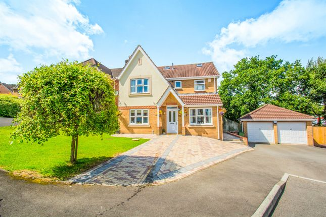 Thumbnail Detached house for sale in Camnant, Ystrad Mynach, Hengoed
