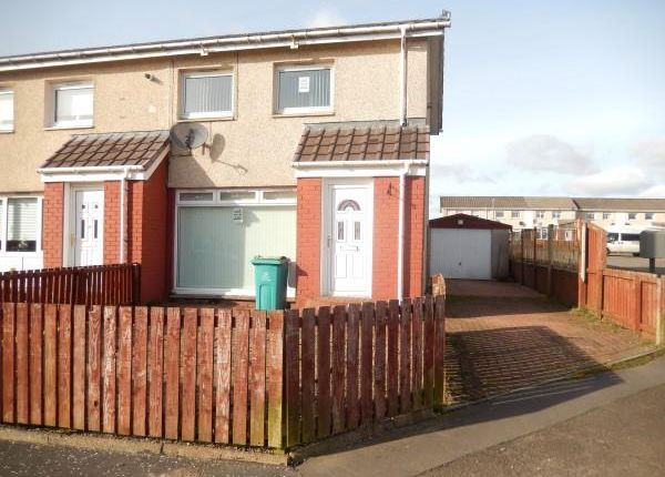 Thumbnail End terrace house to rent in Balloch Road, Shotts