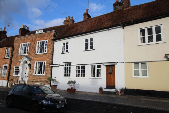 Thumbnail Terraced house for sale in Fishpool Street, St. Albans, Hertfordshire