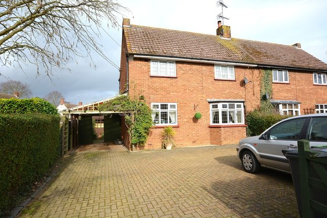 Thumbnail Semi-detached house for sale in Alienor Avenue, Great Bardfield, Braintree