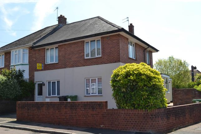Thumbnail Flat to rent in Grenville Avenue, Whipton, Exeter