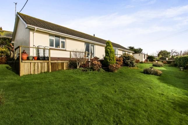 Thumbnail Bungalow for sale in Tywardreath, Par, Cornwall