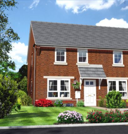 Thumbnail Semi-detached house for sale in Nine Days Lane, Wirehill, Redditch