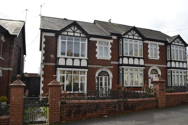 Thumbnail Semi-detached house to rent in Station Road, Pontnewydd, Cwmbran