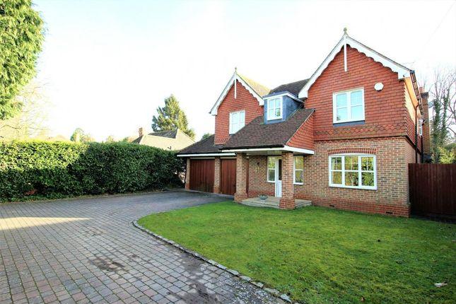 Thumbnail Detached house for sale in Elvetham Road, Fleet