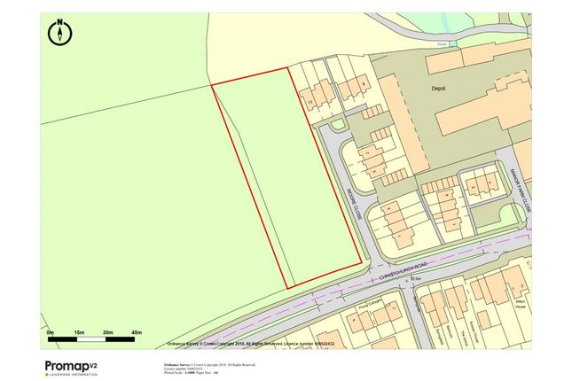 Thumbnail Land for sale in New Milton, Hampshire