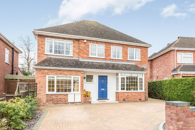 Thumbnail Detached house for sale in Bevere Close, Worcester
