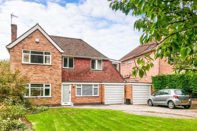 Thumbnail Detached house for sale in The Fairway, Oadby, Leicester