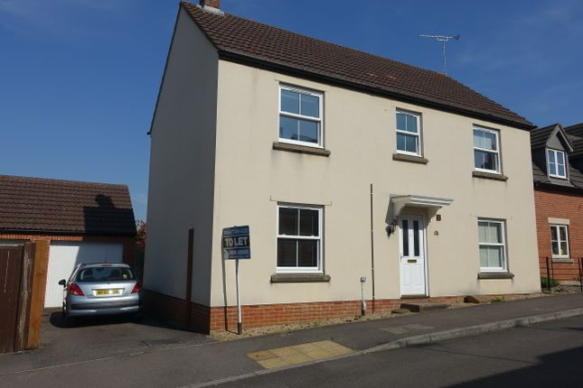 Thumbnail Detached house to rent in Bell Chase, Yeovil