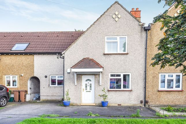 Thumbnail Terraced house for sale in Oldfields Road, North Cheam, Sutton