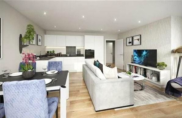 Thumbnail Flat for sale in Legacy Wharf, Cooks Road, Stratford, London
