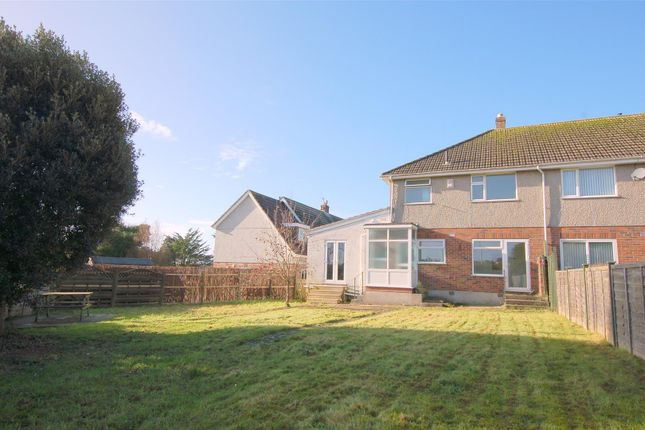 Thumbnail End terrace house for sale in Lyndhurst Close, Plymouth