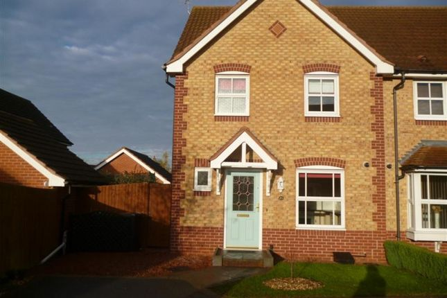 Thumbnail Semi-detached house to rent in Calladine Close, Sutton In Ashfield, Notts