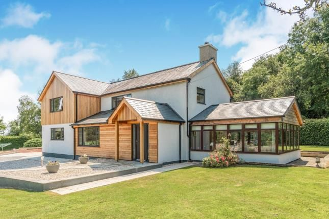 Thumbnail Detached house for sale in Boduan, Pwllheli, Gwynedd, .