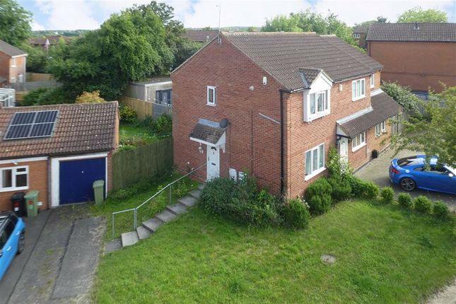 Thumbnail Semi-detached house for sale in Attingham Hill, Great Holm, Milton Keynes, Bucks