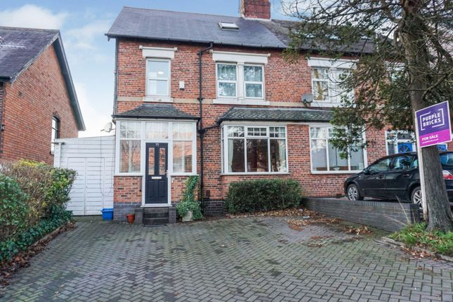Thumbnail Semi-detached house for sale in Pershore Road South, Birmingham