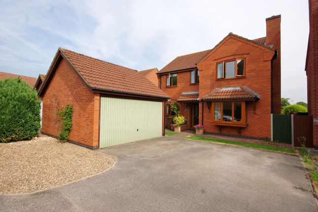 Thumbnail Detached house to rent in Bells Meadow, Heighington, Lincoln
