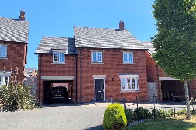 4 bed detached house for sale in Brunel Way, Church Gresley, Swadlincote DE11