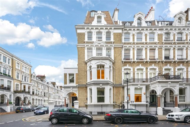 External of Redcliffe Square, Earls Court, London SW10