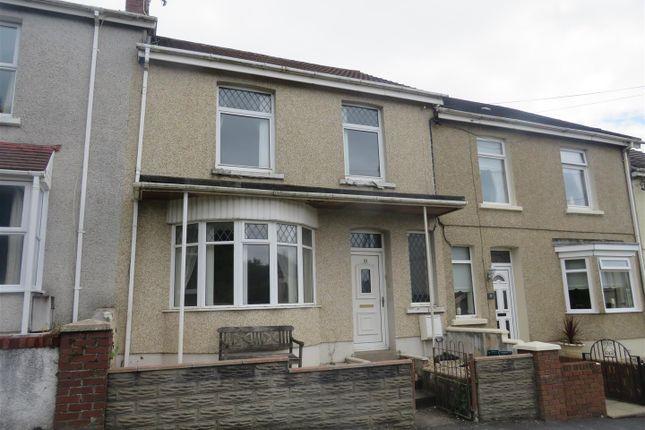 Thumbnail Terraced house for sale in Station Road, Bynea, Llanelli