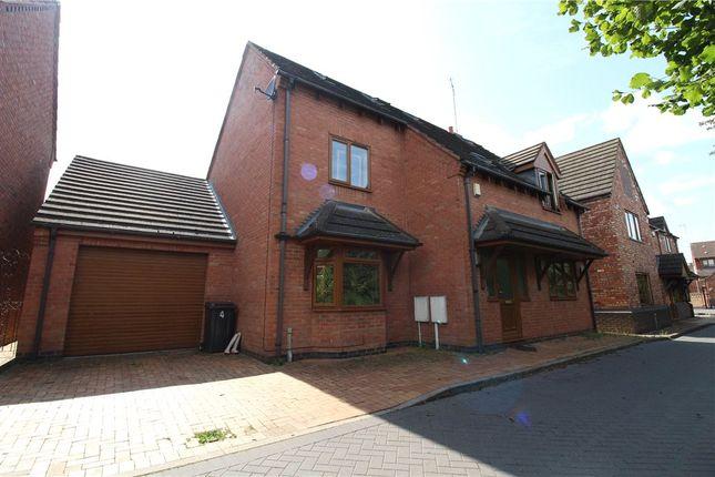 Thumbnail Detached house for sale in Fletchers Drift Lane, Nuneaton, Warwickshire