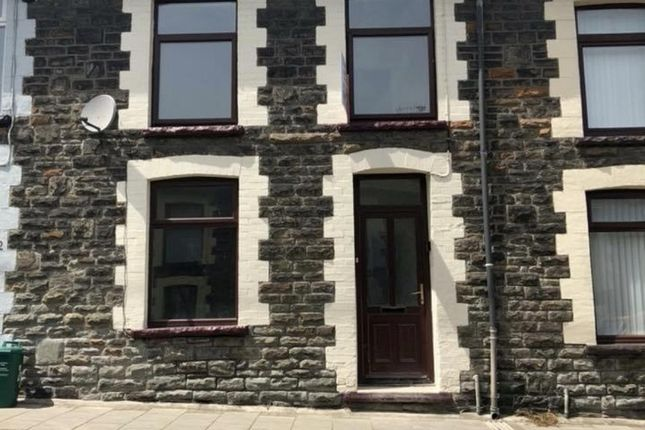 Thumbnail Terraced house to rent in Argyle Street, Porth, West Glamorgan.